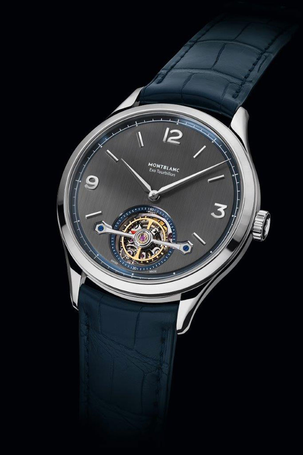 Reloj plano con tourbillon Heritage Chronométrie Exo Tourbillon Slim de Montblanc