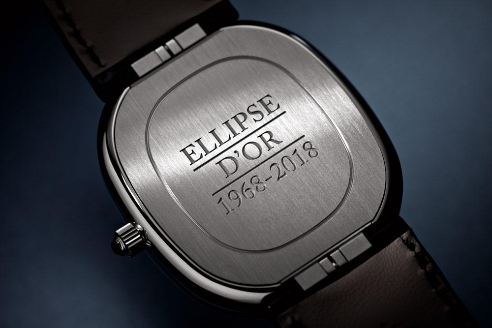 Fondo caja reloj masculino ultraplano Ellipse d'Or de Patek Philippe