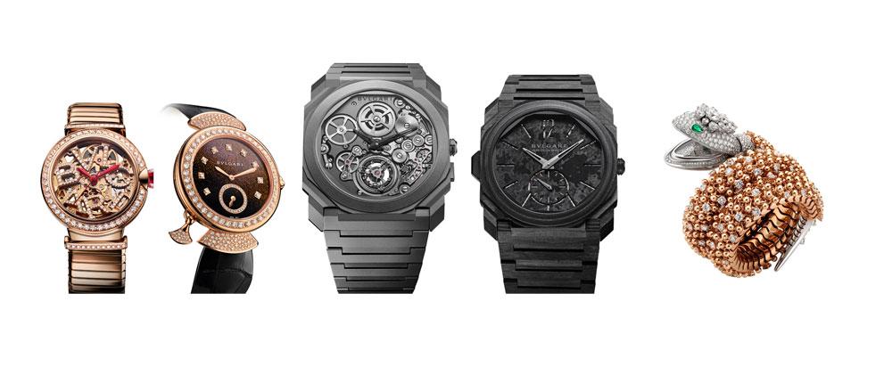 Relojes de Bulgari nominados a mejores relojes de 2018 en el Grand Prix d'Horlogerie de Genève (Gran Premio de Relojería de Ginebra)