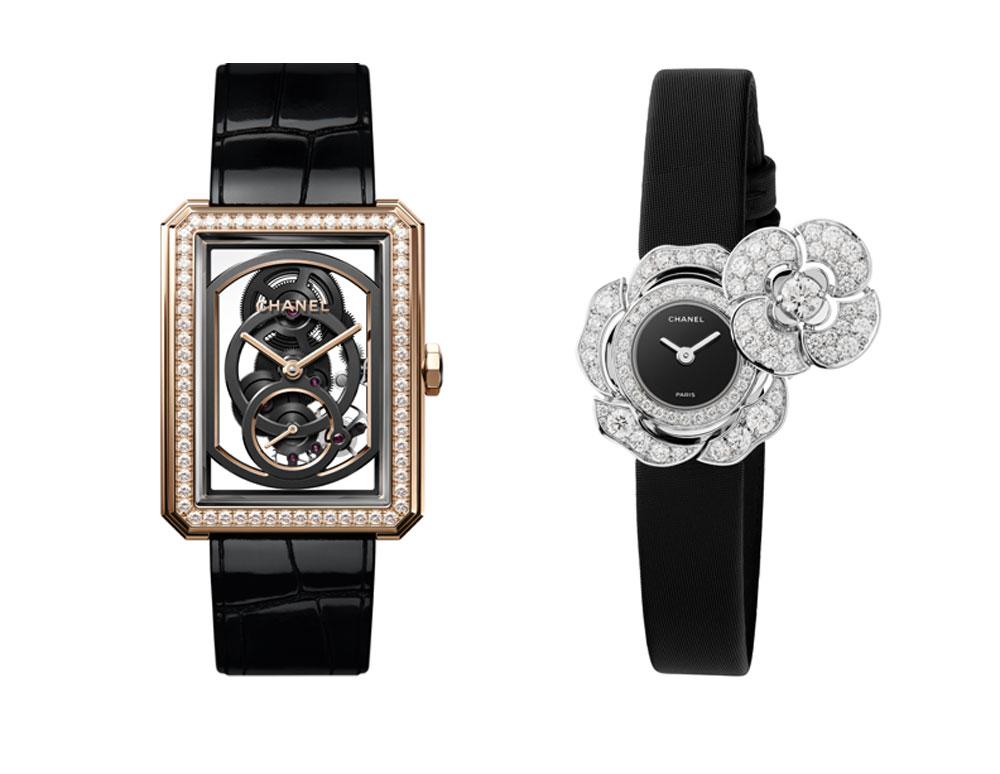 Relojes de Chanel nominados a mejores relojes de 2018 en el Grand Prix d'Horlogerie de Genève (Gran Premio de Relojería de Ginebra)