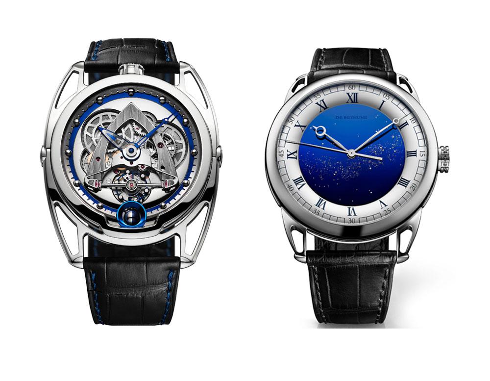 Relojes de De Bethune nominados a mejores relojes de 2018 en el Grand Prix d'Horlogerie de Genève (Gran Premio de Relojería de Ginebra)