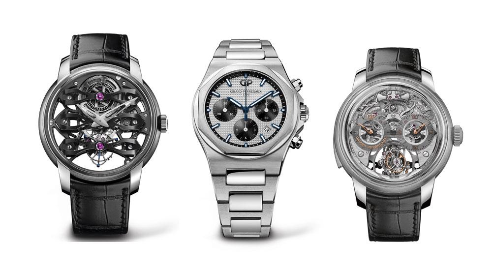 Relojes de Girard-Perregaux nominados a mejores relojes de 2018 en el Grand Prix d'Horlogerie de Genève (Gran Premio de Relojería de Ginebra)