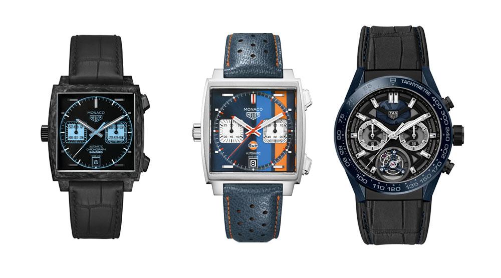 Relojes de TAG Heuer nominados a mejores relojes de 2018 en el Grand Prix d'Horlogerie de Genève (Gran Premio de Relojería de Ginebra)
