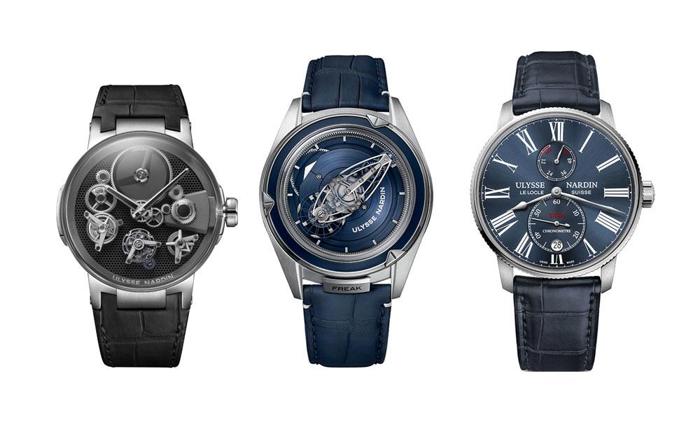 Relojes de Ulysse Nardin nominados a mejores relojes de 2018 en el Grand Prix d'Horlogerie de Genève (Gran Premio de Relojería de Ginebra)