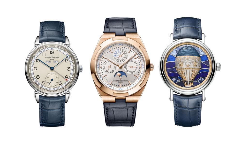 Relojes de Vacheron Constantin nominados a mejores relojes de 2018 en el Grand Prix d'Horlogerie de Genève (Gran Premio de Relojería de Ginebra)