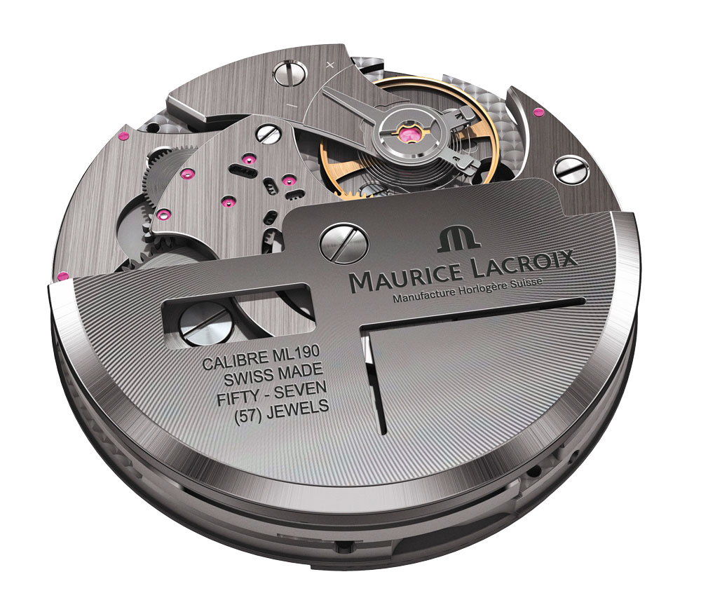 calibre ML190 manufacturado por Maurice Lacroix
