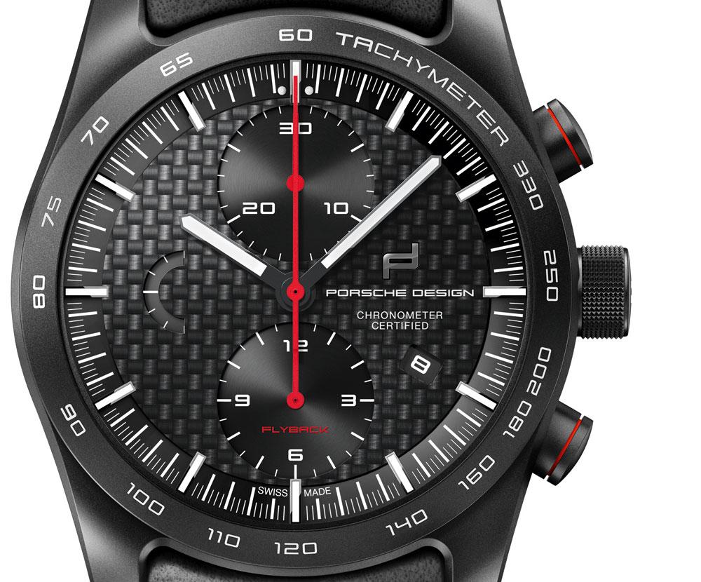 Esfera reloj deportivo Chronotimer Flyback Special Edition de Porsche Design