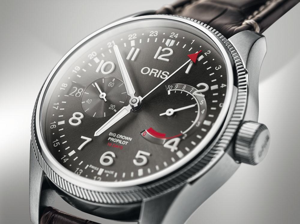 Esfera reloj aviador Oris Big Crown Propilot Calibre 114