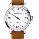 reloj una sola aguja de estilo clásico Meistersinger Urban