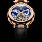 reloj con triple huso horario Edouard Bovet Tourbillon