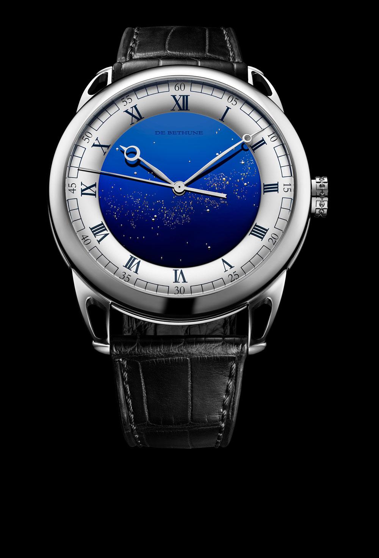 El modelo de De Bethune DB25 Starry Varius Chronomètre Tourbillon es el reloj más preciso de 2018.