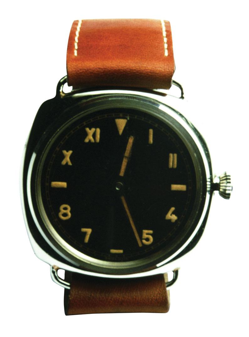 Primer reloj Radiomir con esfera california de Panerai de 1936
