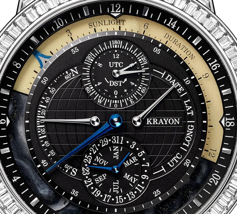 Esfera del reloj más innovador 2018, Everywhere Horizon, de la firma Krayon