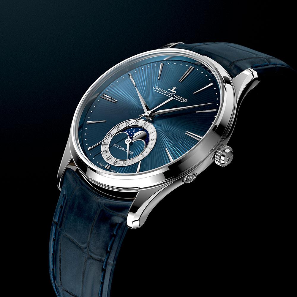 reloj ultraplano Master Ultra Thin Moon Enamel de Jaeger-LeCoultre