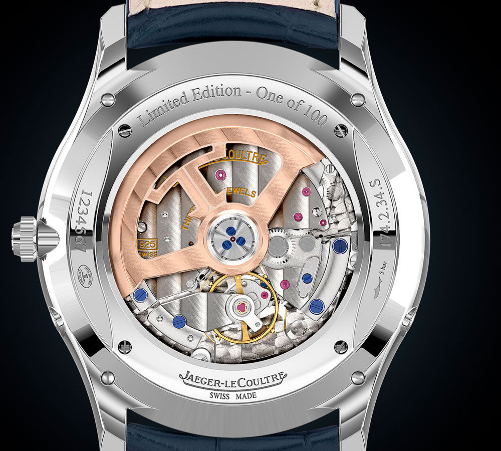 El movimiento automático, calibre 925/2, que equipa el reloj ultraplano Master Ultra Thin Moon Enamel de Jaeger-LeCoultre