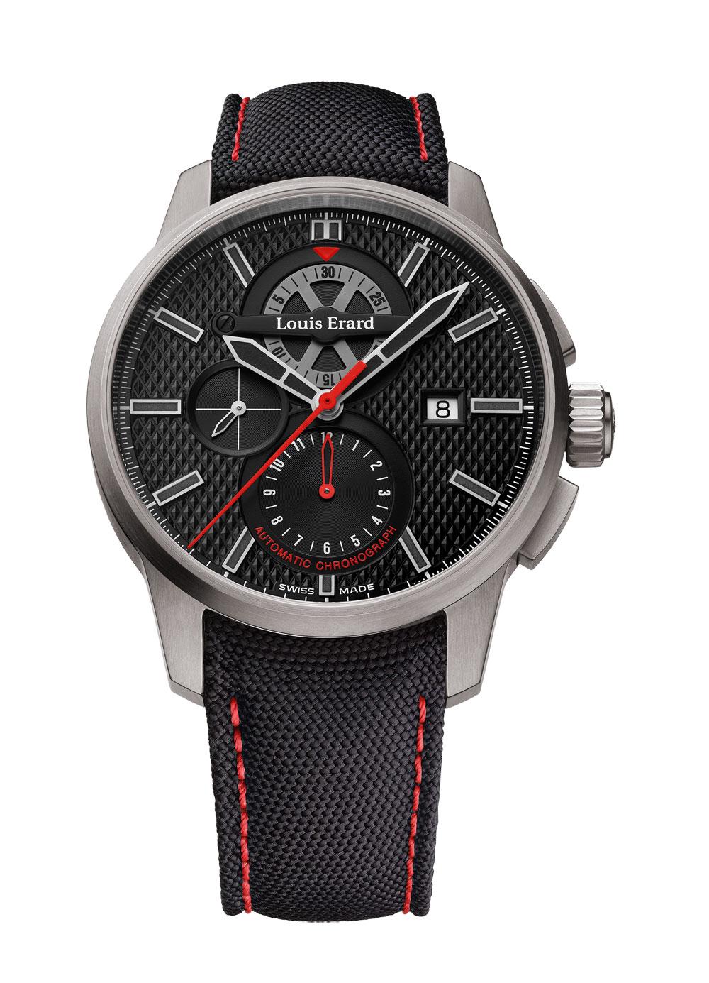 reloj 1931 Titanium Chronograph de Louis Erard