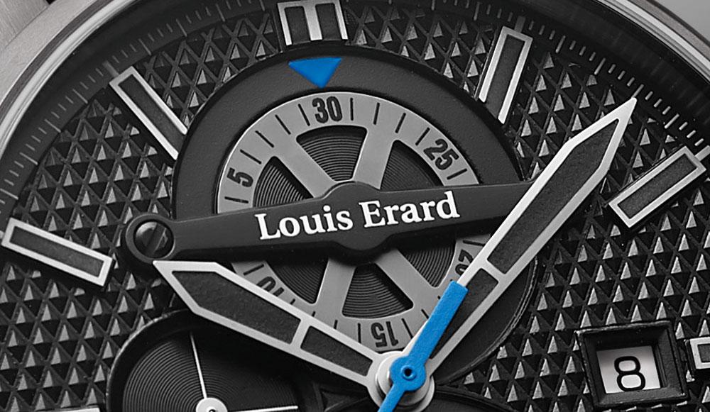 Contador cronógrafo delreloj 1931 Titanium Chronograph de Louis Erard