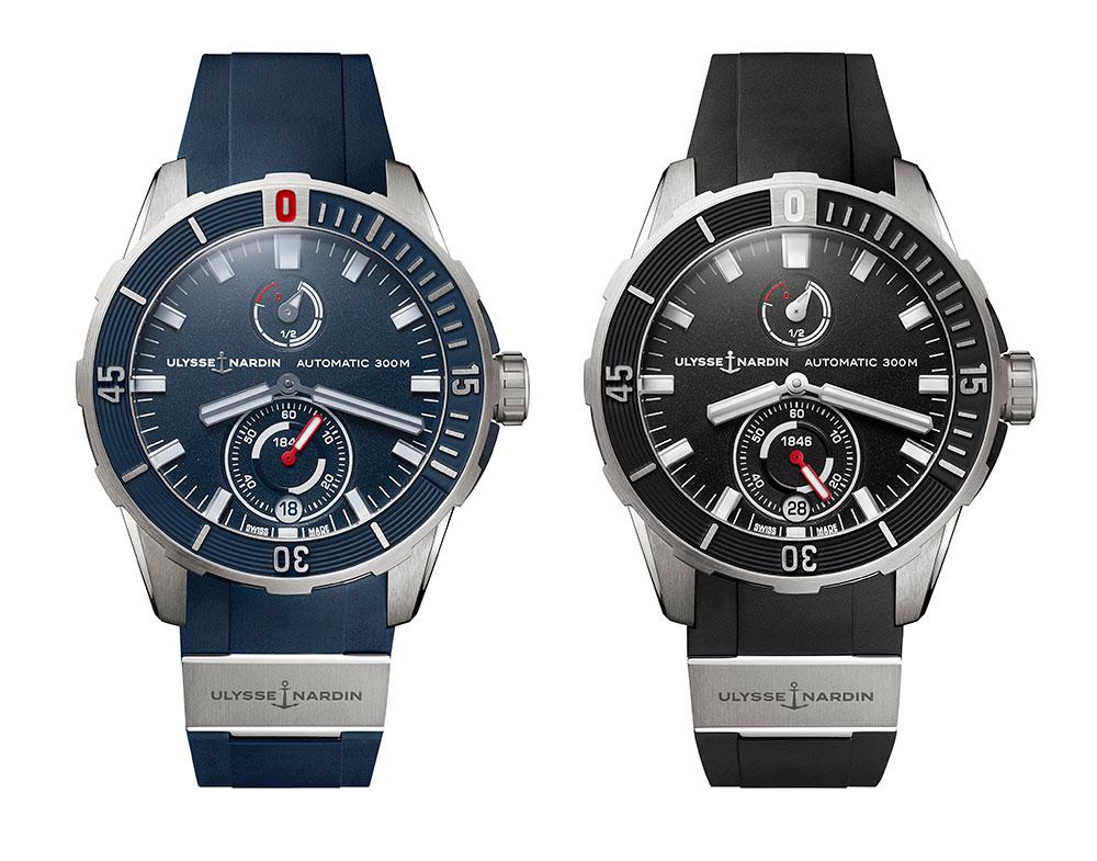 relojes de buceo Diver Chronometer de Ulysse Nardin