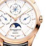 Esfera nuevo reloj nuevo reloj Clifton Baumatic Calendario Perpetuo con calibre propio de Baume & Mercier