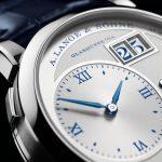Esfera Reloj Lange 1 2Esfera reloj Lange 1 25 aniversario 5 aniversario