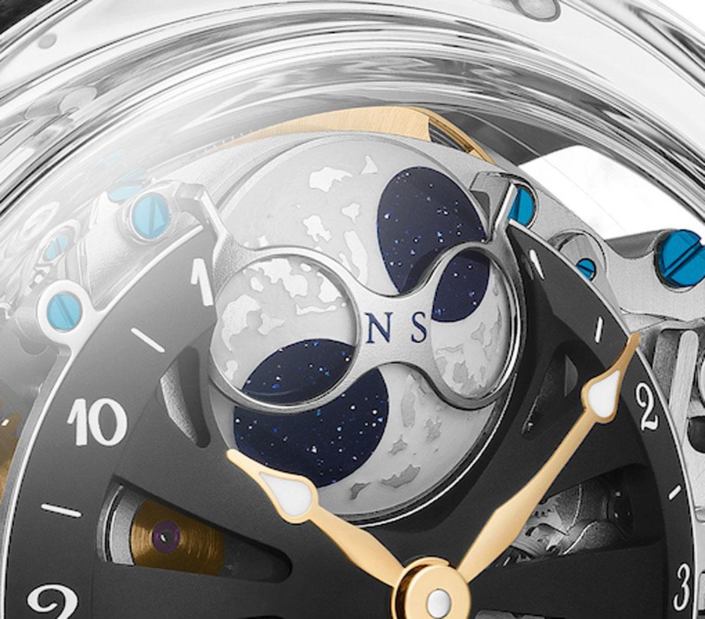 disco fase lunar Reloj BOVET RÉCITAL 26 BRAIMSTORM® CHAPTER ONE