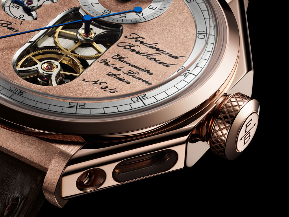 reloj Chronomètre FB 1 Oeuvre d'Or de Ferdinand Berthoud