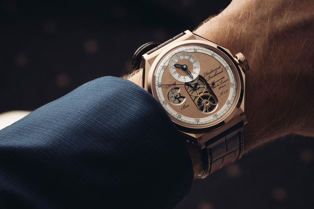 La Chronométrie Ferdinand Berthoud, ha presentado en el SIHH Chronomètre FB 1 Oeuvre d'Or