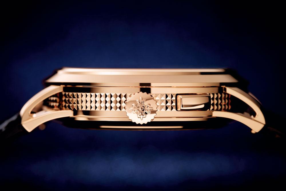 La Cruz de Calatrava decora las coronas de los relojes Patek Philippe