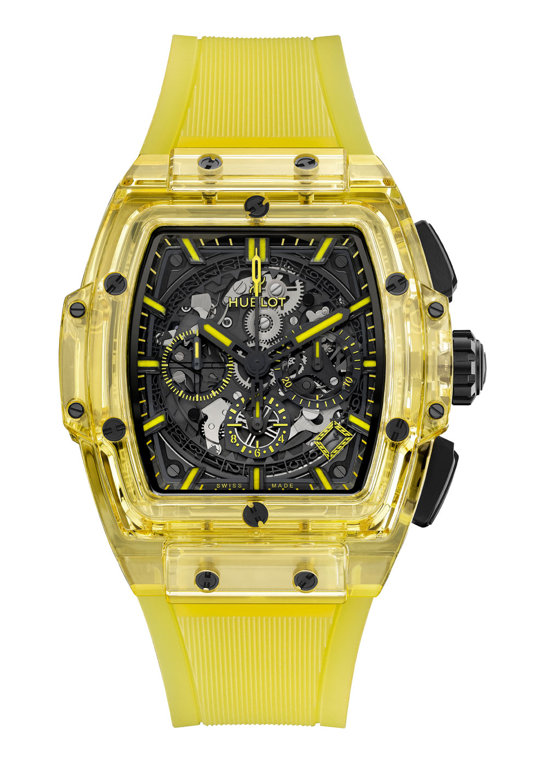 Reloj zafiro Hublot Spirit of Big Bang Yellow Saphire 42 mm