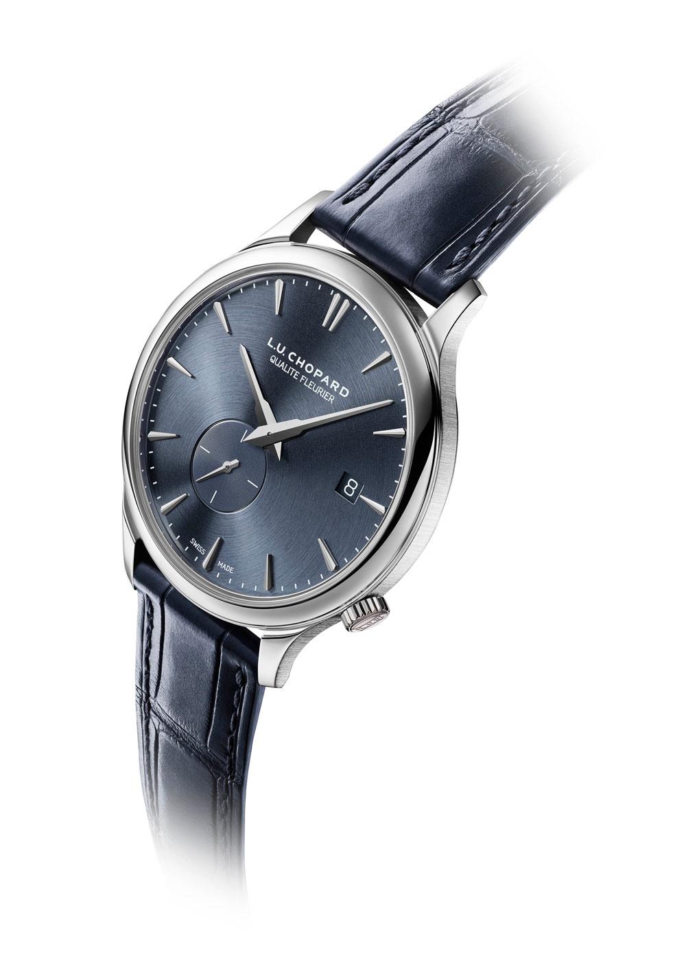 reloj ultraplano L.U.C XPS Twist QF en oro ético blanco de Chopard