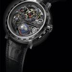 Reloj DeWitt Academia Hour Planet titanio ennegrecido