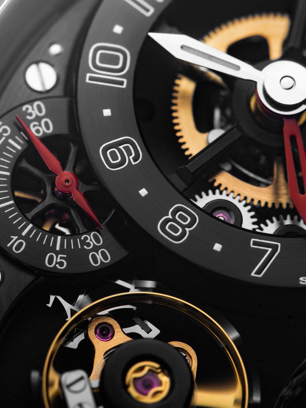 Esfera reloj Academia Hour Planet de la manufactura independiente DeWitt