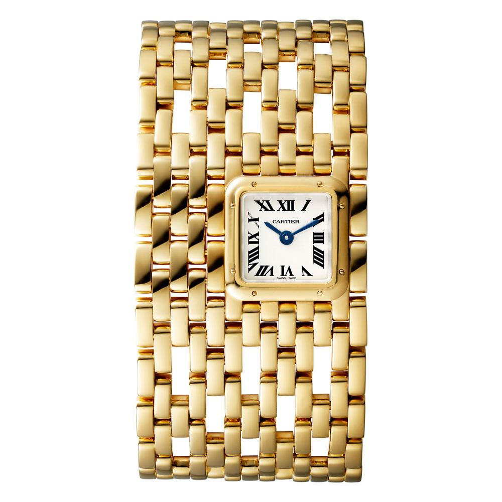 Reloj Panthère de Cartier novedad 2019en oro amarillo modelo grande