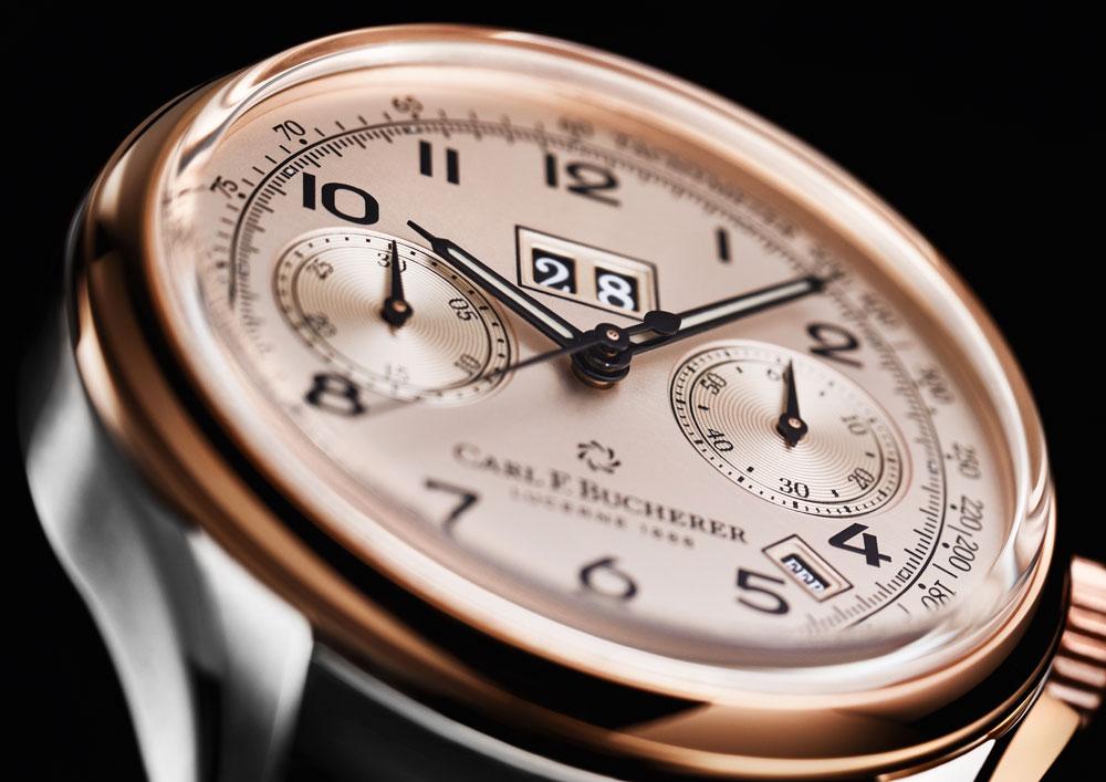 Esfera Reloj Carl F. Bucherer Heritage Bicompax Annual edición limitada