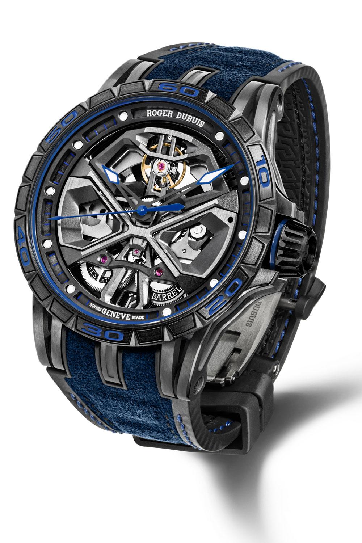 Reloj Roger Dubuis Excalibur Huracán en colaboración con Lamborghini