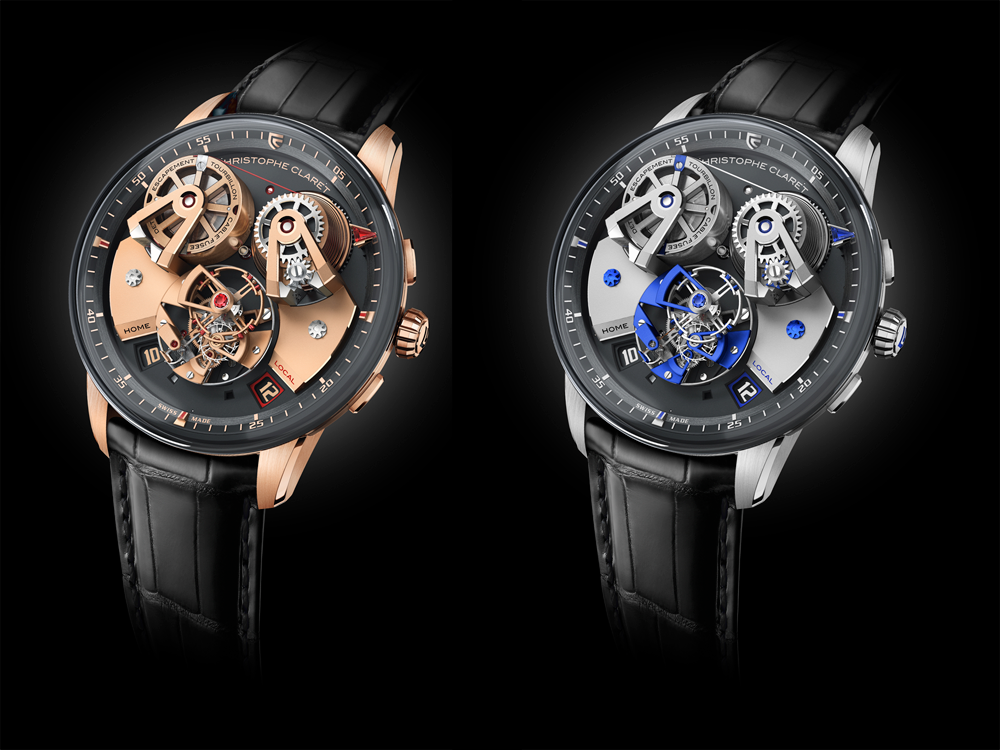 relojReloj Angelico Christophe Claret en oro rosa y titanio