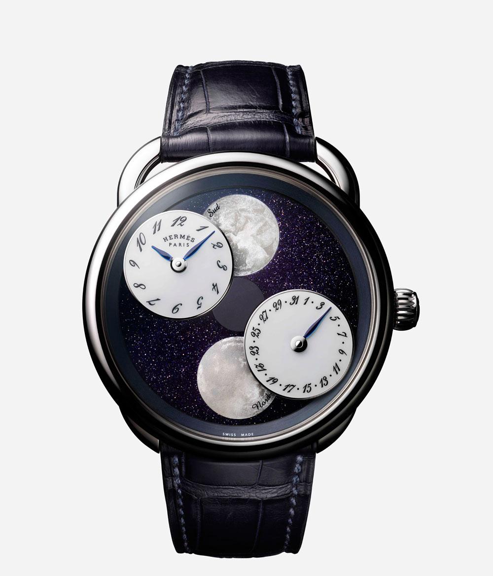Reloj :LA MONTRE HERMÈS ARCEAU L'HEURE DE LA LUNE