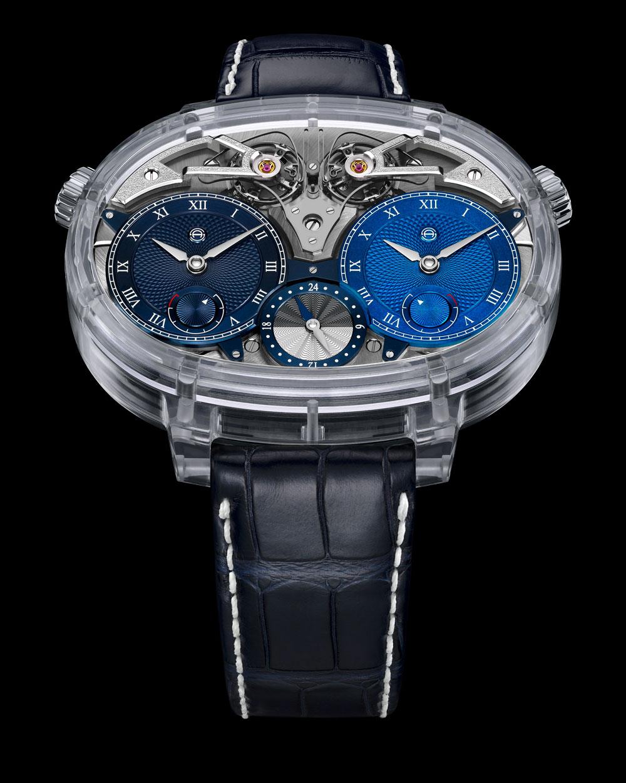 reloj Dual Time Resonance Sapphire de Armin Strom