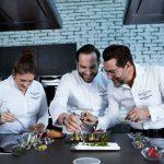 Macarena de Castro, Quique Dacosta y Mario Sandoval son los tres chefs que conforman el squad local de Breiting en España.