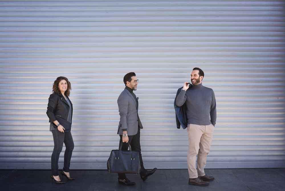 Macarena de Castro, Quique Dacosta y Mario Sandoval, los tres chefs que forma el squad de la alta gastronomía de Breitling