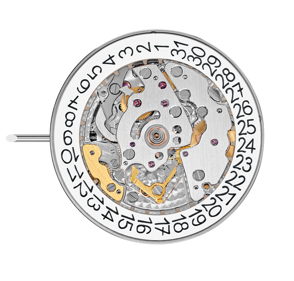 calibre 26-330 es de carga automática y está formado por 304 piezas
