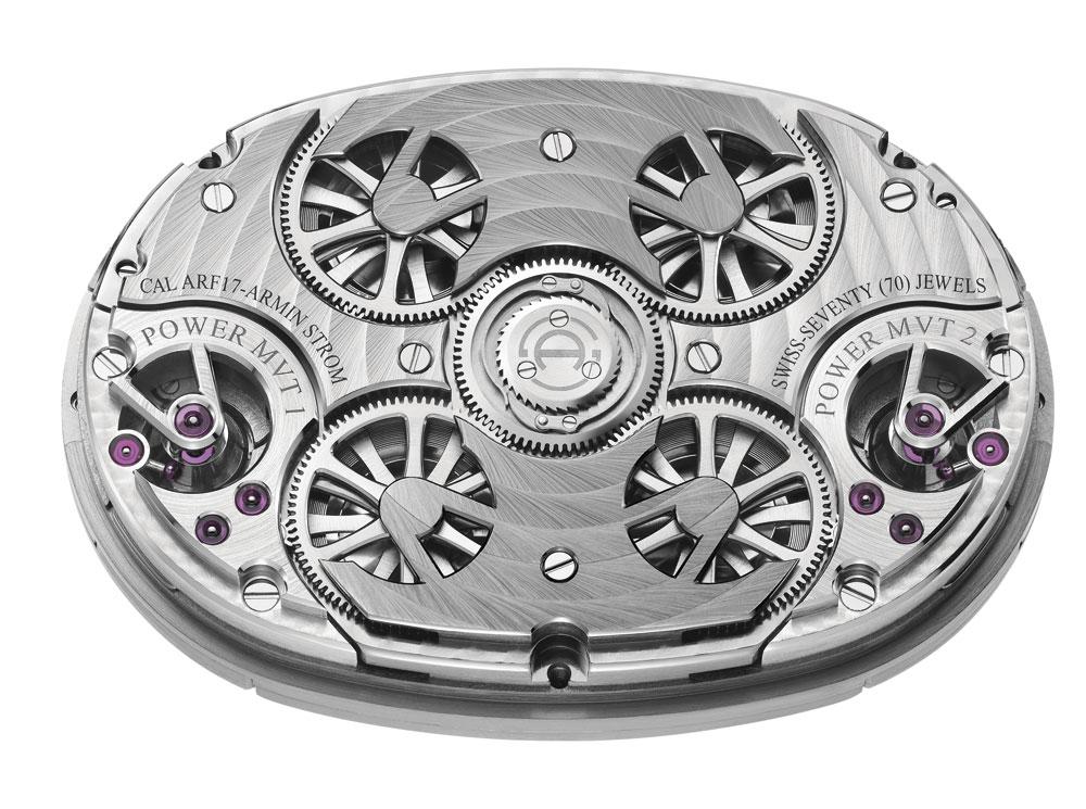 mecanismo que equipa el reloj Dual Time Resonance Sapphire