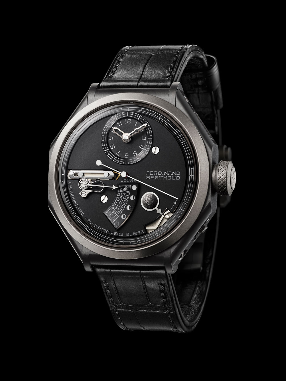 Reloj Chronomètre FB 1 L de la manufactura relojra suiza La Chronomètrie Ferdinand Berthoud