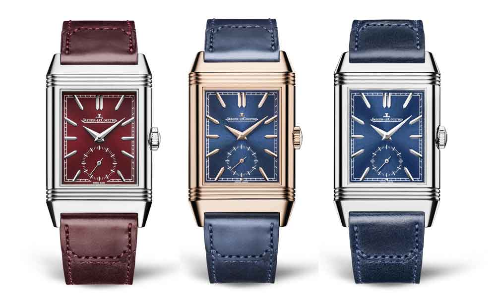 Reverso Tribute Small Seconds, Reverso Tribute Duoface Fagliano Limited y Reverso Tribute Duoface de Jaeger-LeCoultre