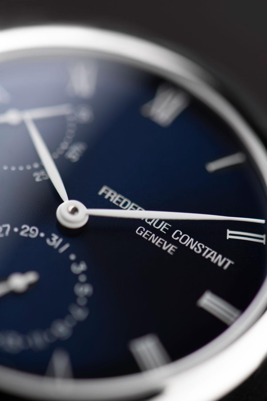 Esfera reloj Slimline Power Reserve Manufacture de Frederique Constant