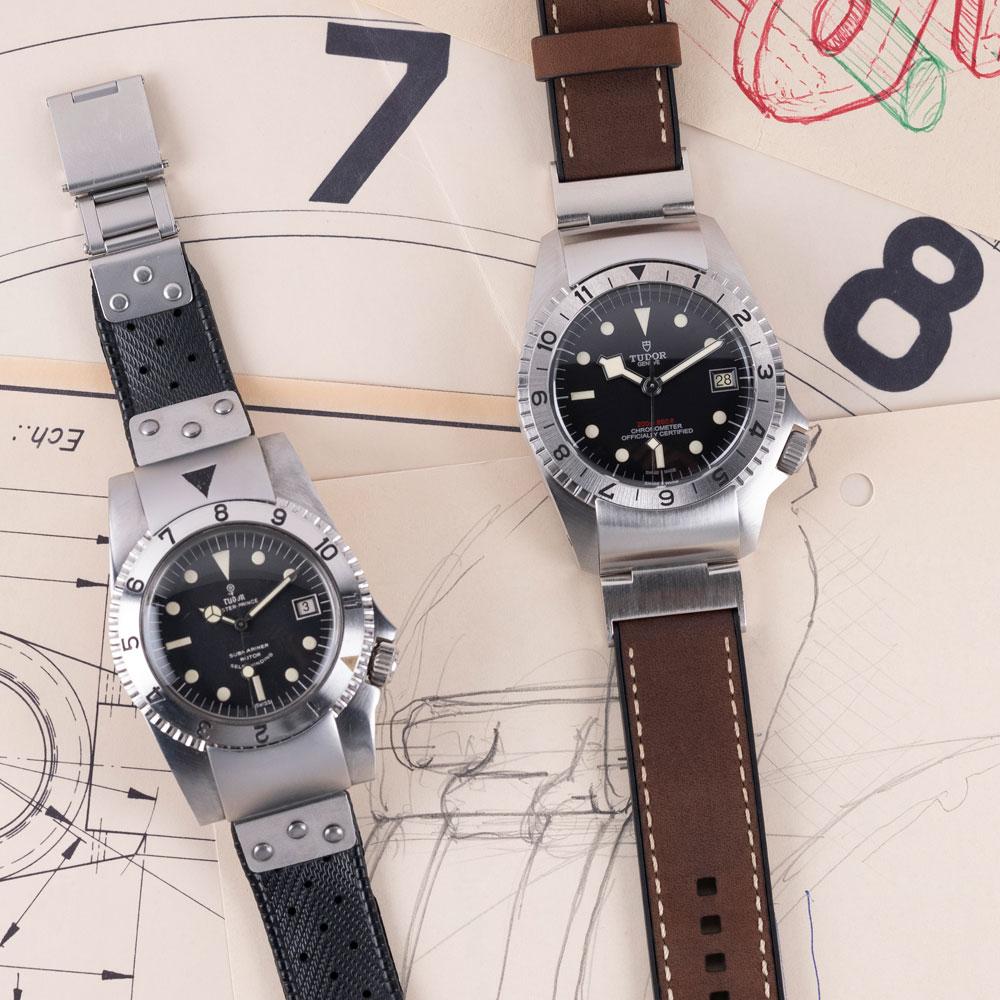 Prototipo en el que se inspira el nuevo reloj el Black Bay P01