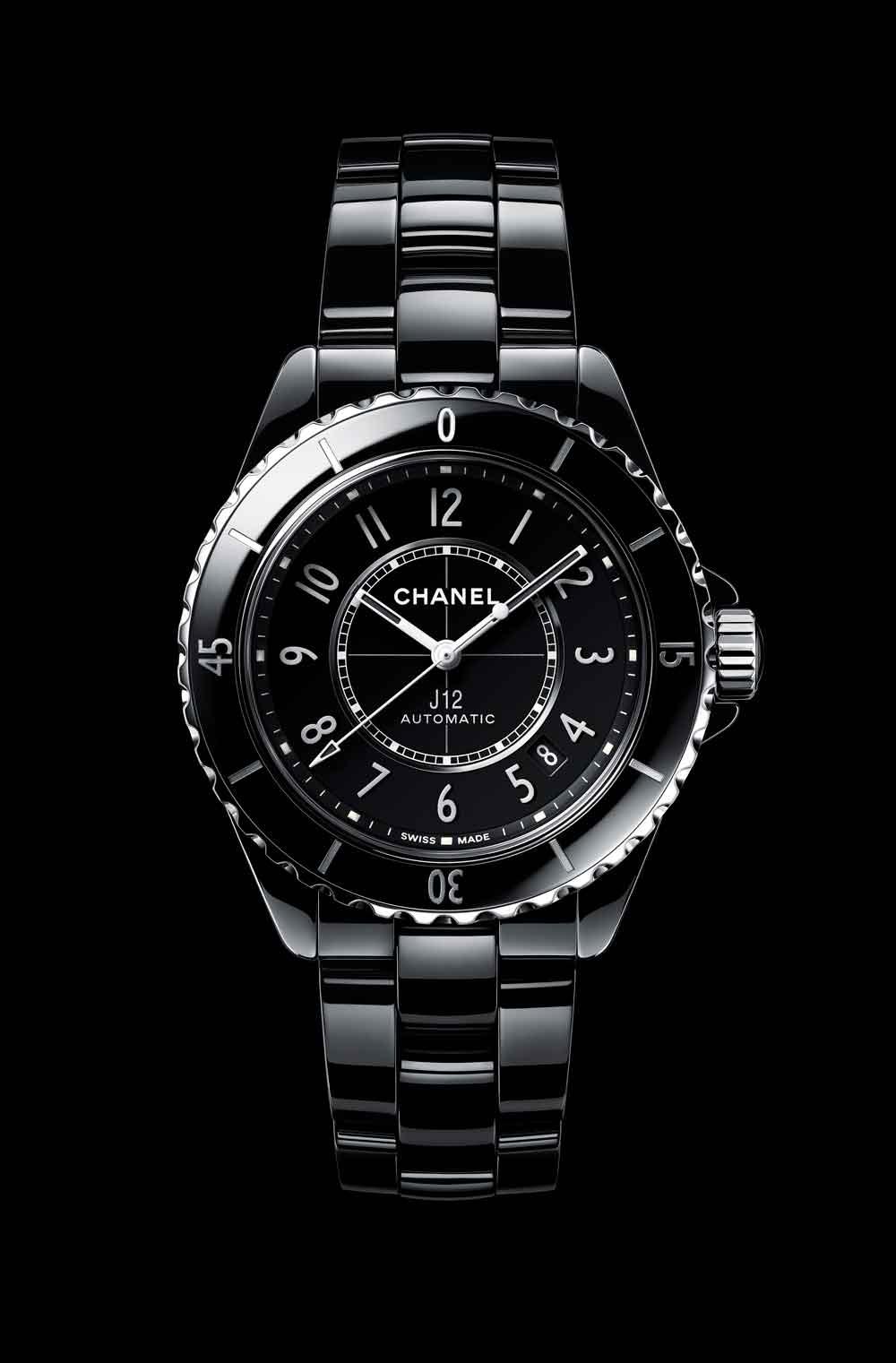 Nuevo reloj Chanel J12 cerámica negra