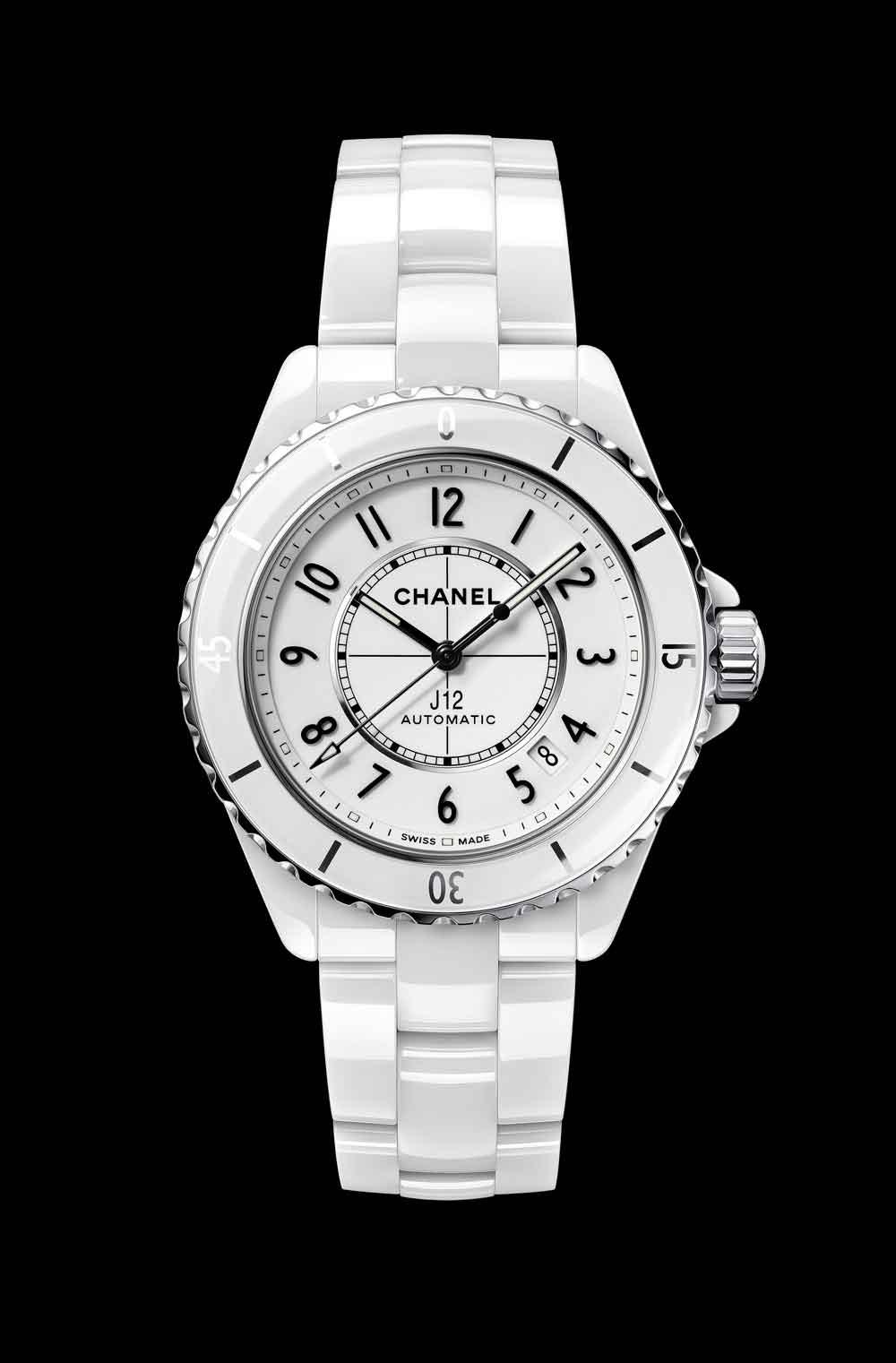 Nuevo reloj Chanel J12 cerámica blanca