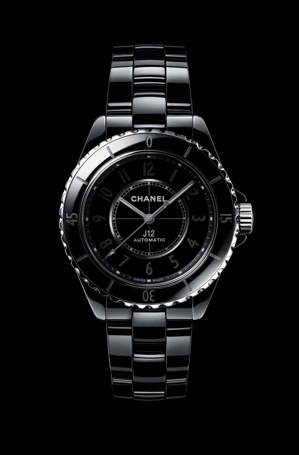 Nuevo reloj Chanel J12 Phantom cerámica negra