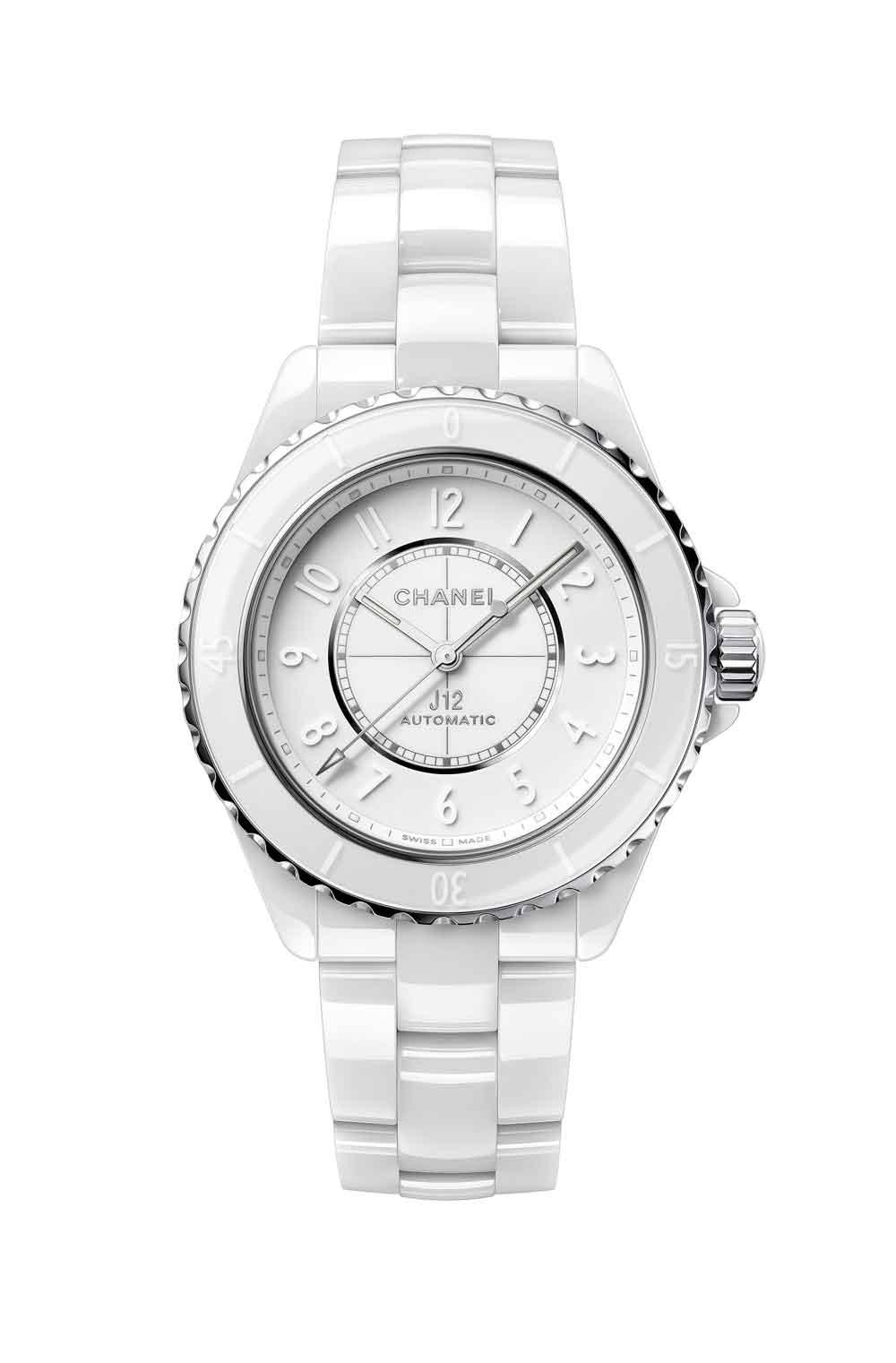Nuevo reloj Chanel J12 Phantom cerámica blanca
